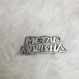 Metal Mulisha pewter belt buckle like new